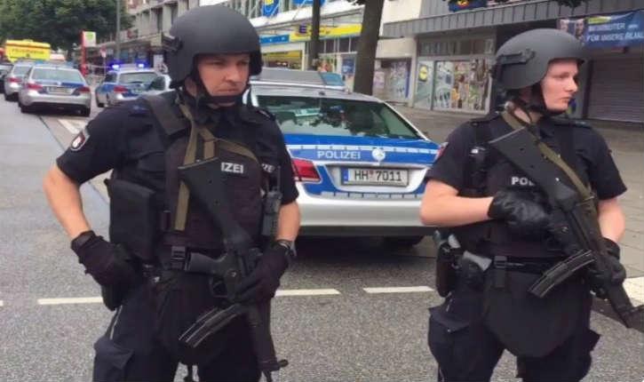 Hambourg : attaque au couteau dans un supermarché, un mort et quatre blessés