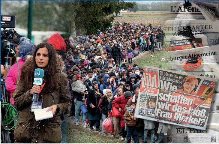 Les médias allemands ont manipulé l'opinion en faveur de l'arrivée des migrants selon une étude universitaire