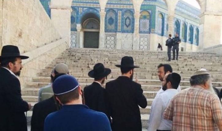 [Video] Mont du Temple: des juifs prononcent le Kaddish pour les deux Druzes policiers assassinés vendredi