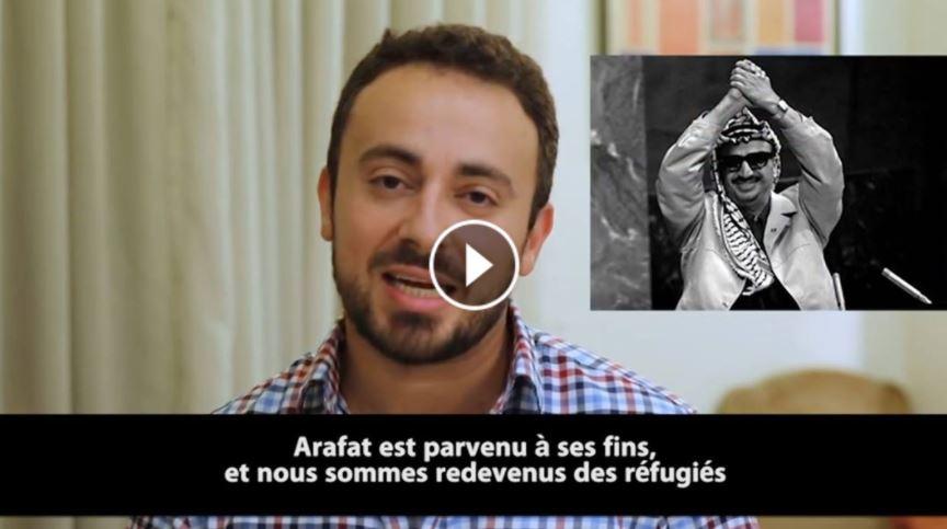 [Vidéo] Un réfugié palestinien parle et expose la vérité sur L'UNRWA, Arafat, l'OLP, la corruption, et le business des réfugiés