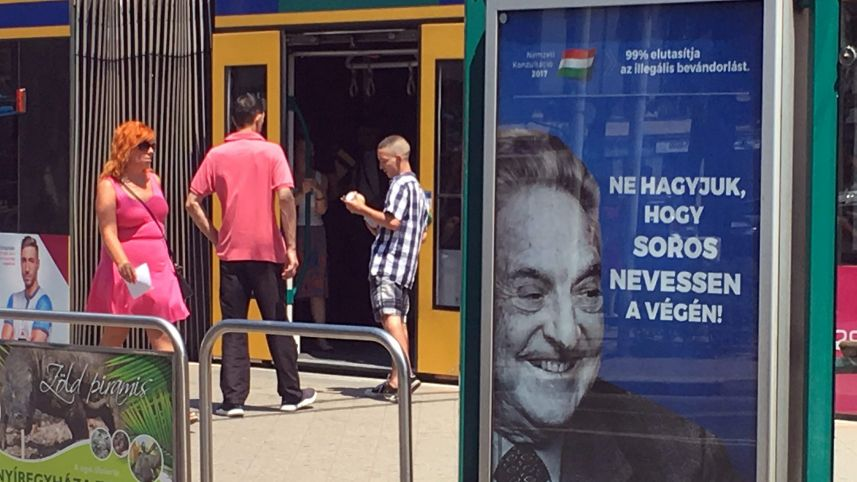 Hongrie le dilemme pour Israel: protéger les juifs sans défendre Soros