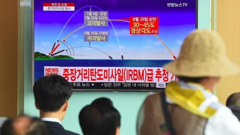 Tensions : La Corée du Sud effectue des exercices de bombardements en réponse au test de missile de Pyongyang près du Japon