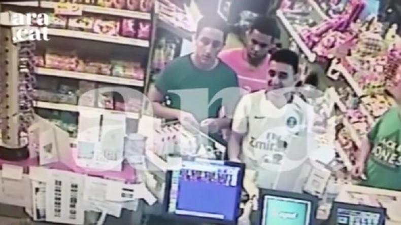 Des images des terroristes islamistes de Catalogne, tout sourire, quelques heures avant les attentats (Vidéo)