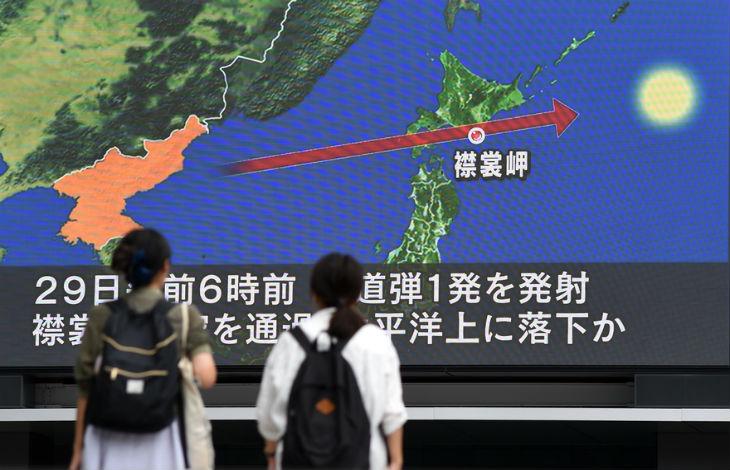 Alerte missile : Les sirènes japonaises préviennent les habitants d'un tir de missile nord-coréen (Vidéo)