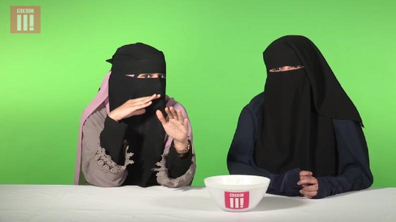 Islamisation : La BBC banalise le port du voile intégral (Vidéo)
