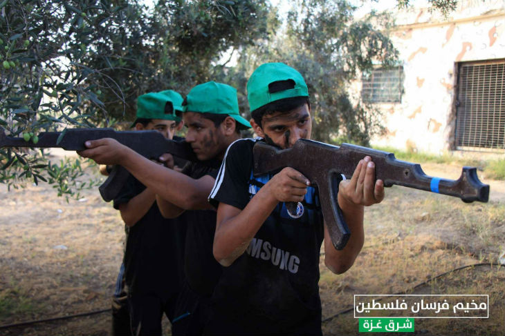 """Gaza : 120 000 enfants endoctrinés au terrorisme par le Hamas lors des «camps de vacances» sous la devise """"Marcher sur Jérusalem"""", grâce aux financements de l'Europe et de l'ONU…"""