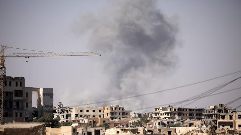 La Syrie accuse la coalition internationale d'avoir utilisé des bombes au phosphore contre un hôpital à Raqqa