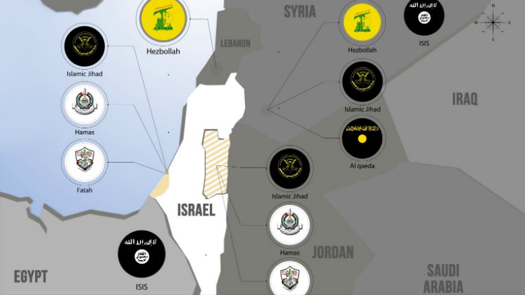 [Vidéo] Le Moyen-Orient en flammes : Israël a plus que jamais besoin de frontières défendables
