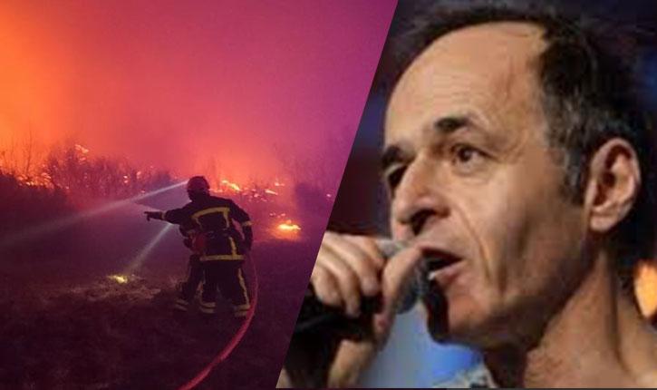 Jean-Jacques Goldman sort de son silence pour soutenir les pompiers français
