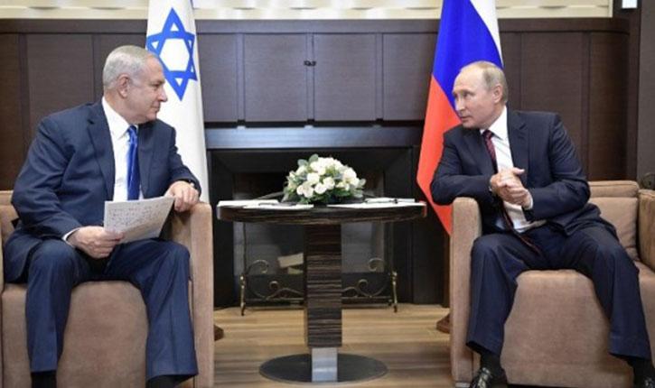 Nétanyahou à Poutine : si nécessaire, israël agira contre l'iran en syrie