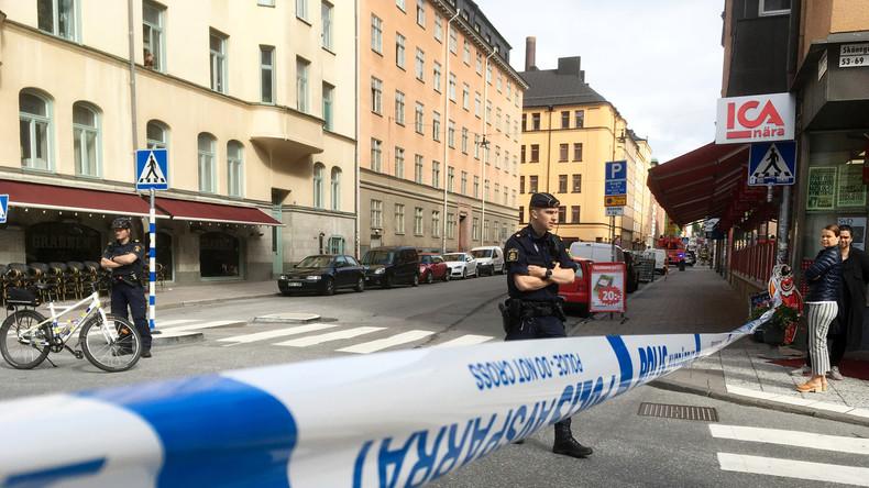 Attaque au couteau contre un policier à Stockholm, l'assaillant arrêté