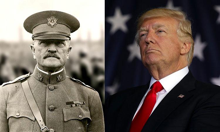 Trump évoque le général Pershing, l'homme qui a mis fin au jihadisme pendant 35 ans