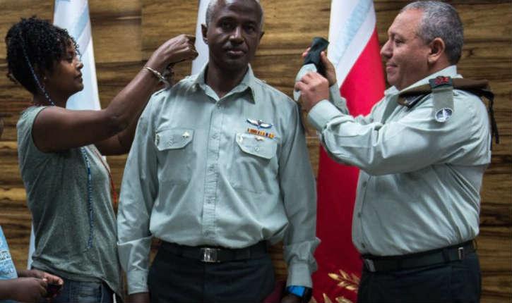 Tsahal : félicitation au Dr. Avi Itshak, devenu le premier colonel d'origine éthiopienne