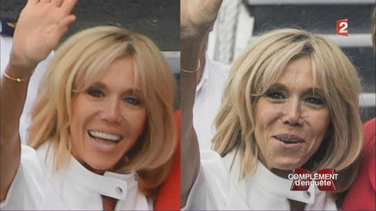 Les Photos de Brigitte Macron seraient retouchées avant d'être publiées selon un directeur d'agence (Vidéo)