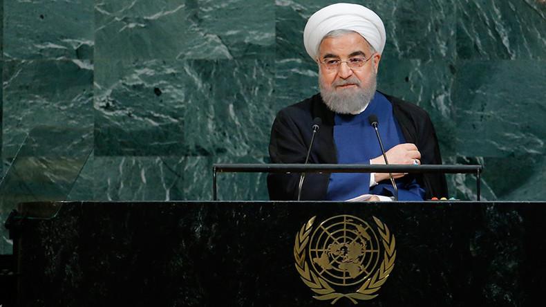 Le président iranien Rohani à l'ONU traite Donald Trump «de nouveaux voyous de la politique internationale»