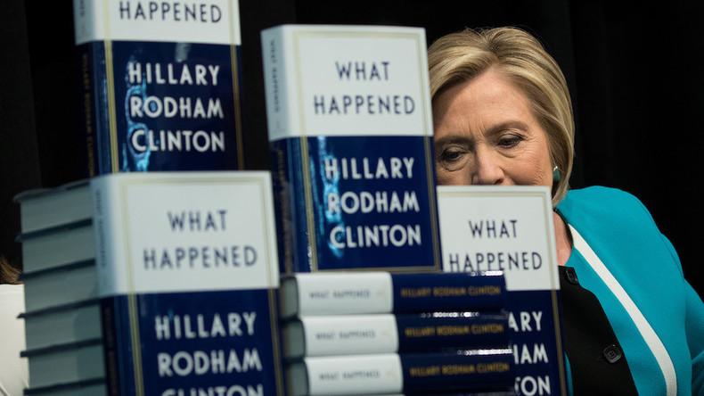 «What happened» : Amazon retire une avalanche d'avis négatifs sur le livre d'Hillary Clinton