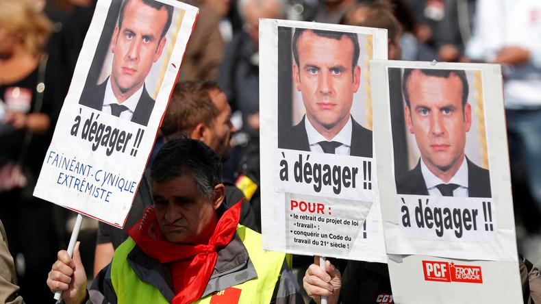 53% des Français estiment que la politique d'Emmanuel Macron bénéficie aux plus aisés