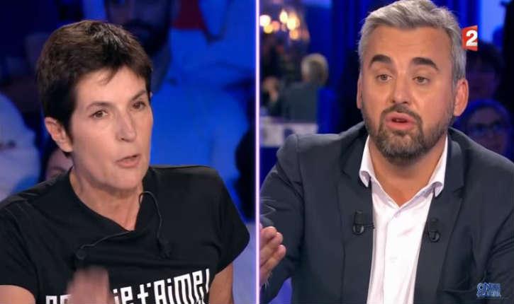 [Vidéo] ONPC : vif échange entre la chroniqueuse Christine Angot et Alexis Corbière député de la France Insoumise au sujet de l'antisémite Dieudonné