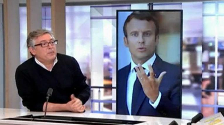 Michel Onfray tacle «Macron est un personnage narcissique. Il faudrait que ce petit garçon devienne adulte !» (Vidéo)