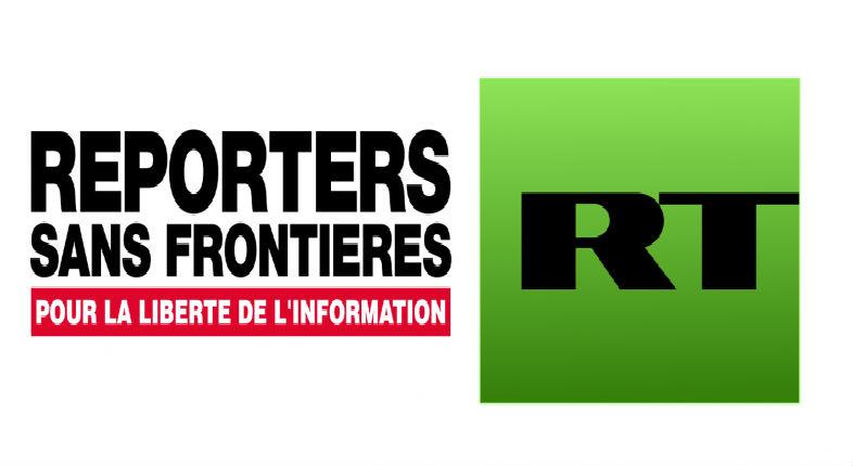 Les journalistes de RT, organe de propagande russo-arabe, qualifiés d'«ennemis du journalisme» par Reporter Sans Frontière
