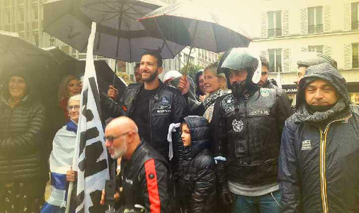 [Exclusivité] Manifestation de motards en mémoire de Sarah Halimi défenestrée : «Run 4 Sarah Halimi» par Anne Reinaud