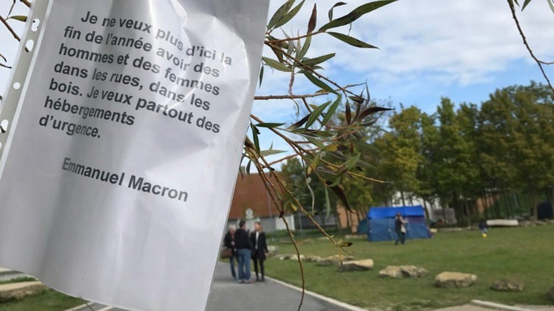 Le campus de l'université de Reims occupé par des migrants. 8 000 étudiants privés de cours (Photos)