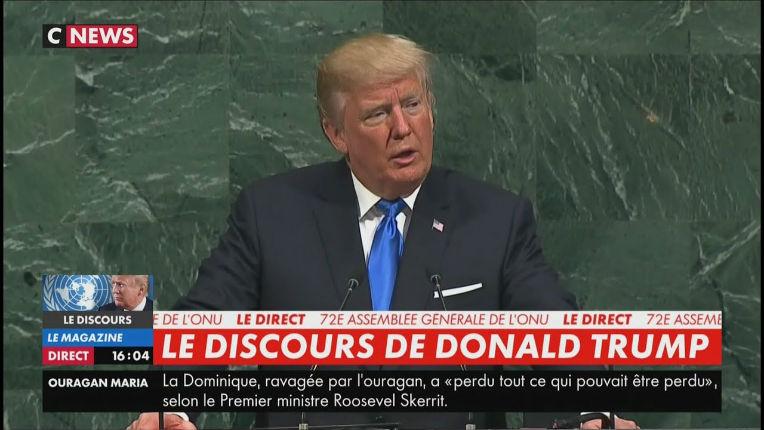 Trump à l'ONU : «Avec la somme que nous dépensons pour installer un réfugié aux Etats-Unis, nous pouvons aider 10 réfugiés dans leur pays. Le coût de la migration est assumé essentiellement par des citoyens à faibles revenus…» (Vidéo)
