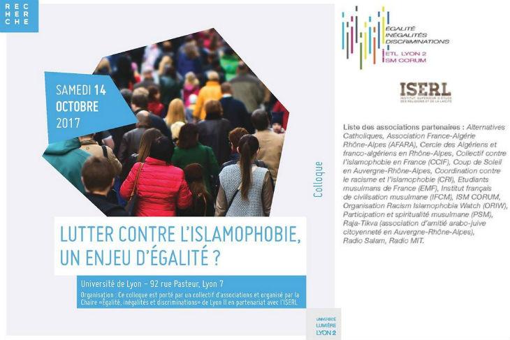 La fine fleur de l'islamisme invitée à l'université de Lyon pour débattre de l'« islamophobie »