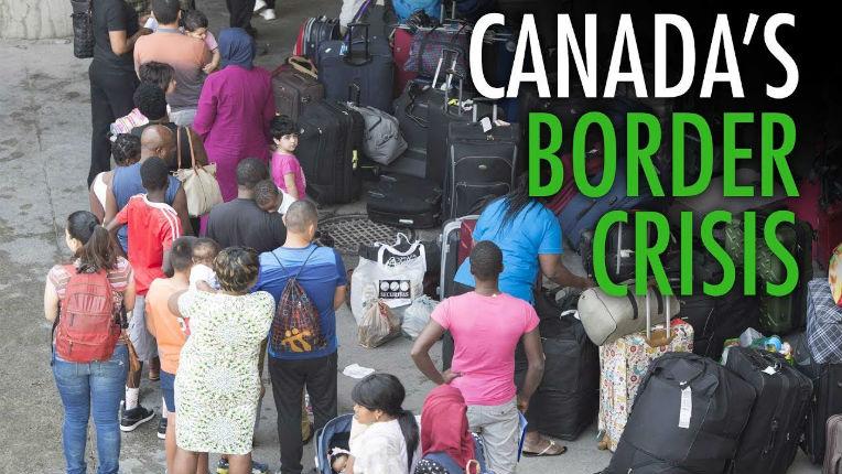 Soros et Trudeau font équipe pour ouvrir la frontière canadienne aux migrants