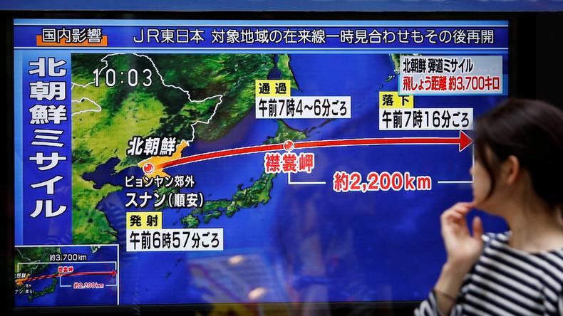 Nouveau tir d'un missile balistique nord-coréen, un réveil effrayant pour le Japon (Vidéo)