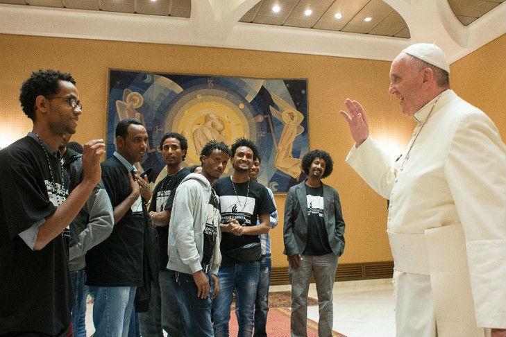 Pape François : les migrations, une chance pour l'Europe et pour l'Eglise