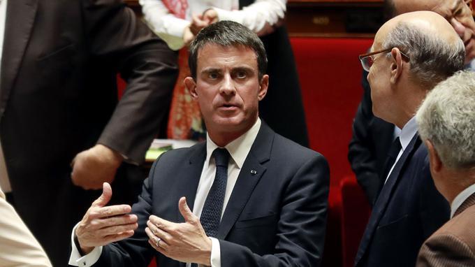 À l'Assemblée, Valls dénonce «les liens» de La France insoumise avec l'islam radical
