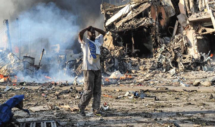 Somalie : un attentat terroriste à Mogadiscio, fait 276 morts et 300 blessés
