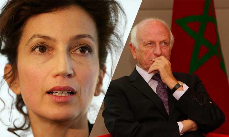 Le père d'Audrey Azoulay, conseiller du roi du Maroc: «Tant que le peuple palestinien sera dans la situation actuelle, je serai un être amputé»
