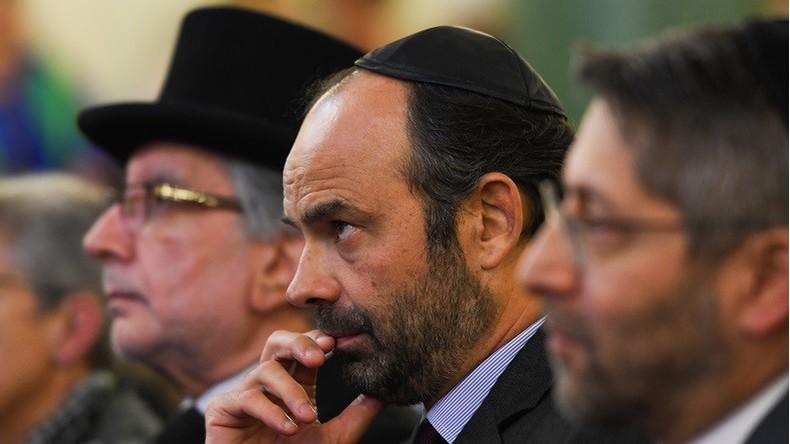 Devant la communauté juive, Edouard Philippe annonce un plan contre la «bête immonde»