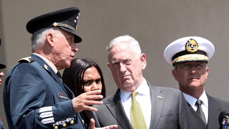 Washington menace Pyongyang de «réaction militaire massive» en cas d'emploi de l'arme nucléaire