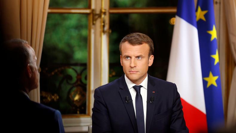 Macron veut examiner «au cas par cas» le retour en France des femmes et enfants de djihadistes