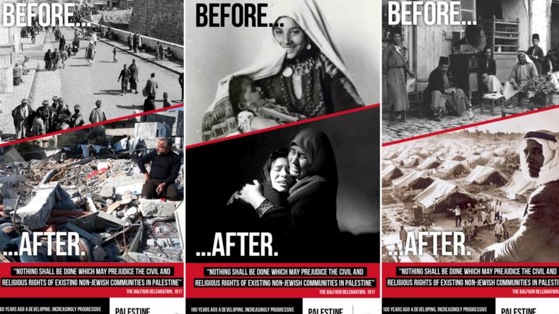 Une campagne mensongère de propagande palestinienne interdite dans les transports londoniens