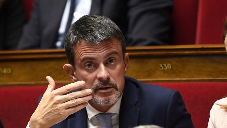 Proche de «l'extrême droite israélienne» : Valls dénonce un texte «ignoble» de Mélenchon