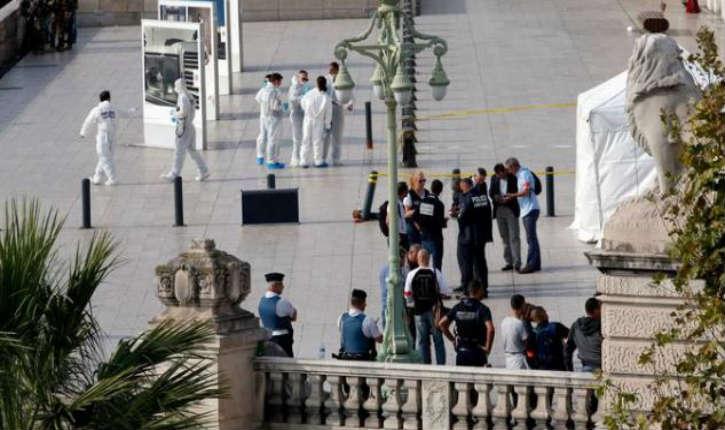 [Vidéo] Marseille : un terroriste tue deux femmes à l'arme blanche avant d'être abattu par des militaires