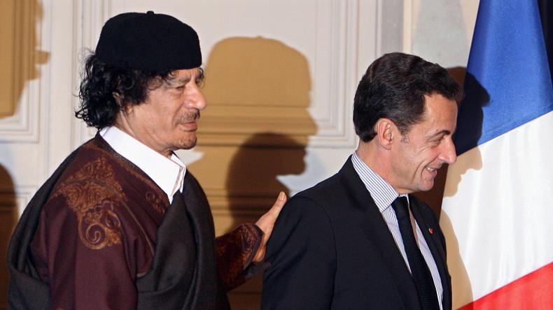 Mort de Kadhafi : Sarkozy visé par une plainte pour crimes de guerre et crimes contre l'humanité