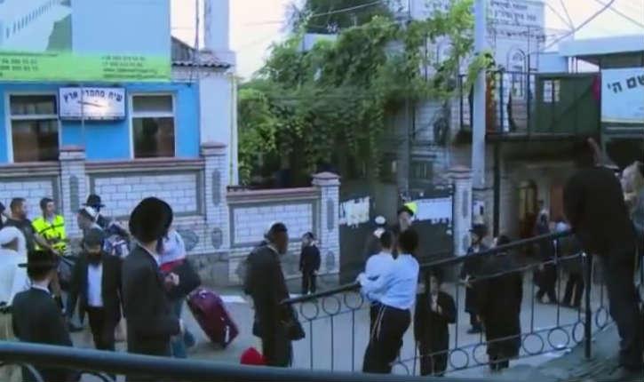 La police ukrainienne a interpellé trois hommes ukrainiens accusés d'avoir ciblé des Juifs à Ouman