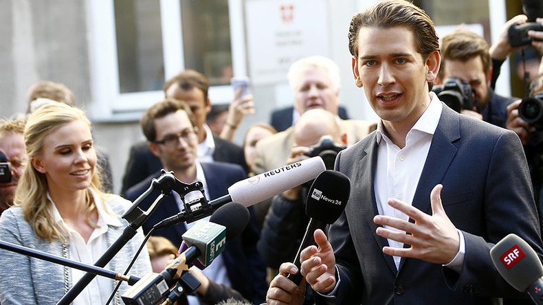 Autriche : le FPÖ anti-immigration seraient troisièmes, la droite conservatrice l'emporte