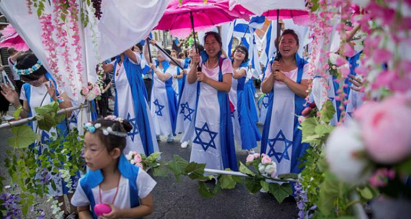 60 000 chrétiens de 80 pays défilent à Jérusalem en solidarité avec Israël