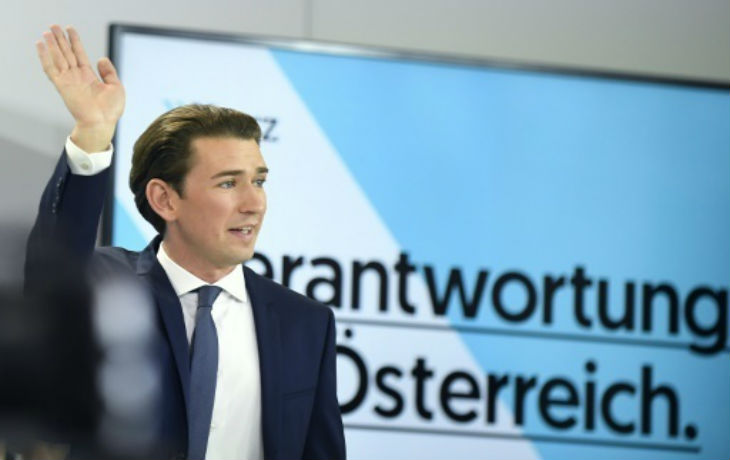 Autriche : Le jeune conservateur Sebastian Kurz, vainqueur des élections, exige des futurs partenaires du gouvernement un engagement contre l'antisémitisme