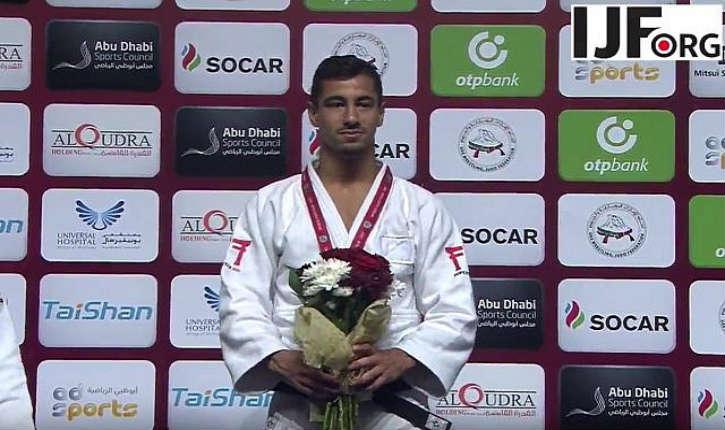 Abu Dhabi : le judoka Israélien Tal Flicker remporte la médaille d'or mais il se voit priver du drapeau et de l'hymne israélien