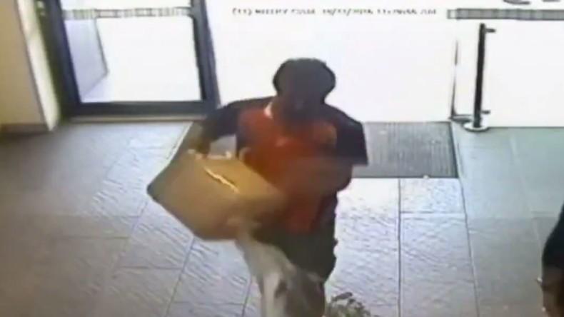 Un migrant met le feu à la banque trop lente à s'occuper de lui… 33 blessés dont 4 graves (Vidéo choc)