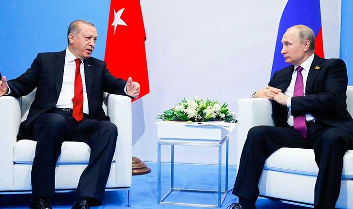 Erdogan reçoit Poutine pour des contrats d'armements