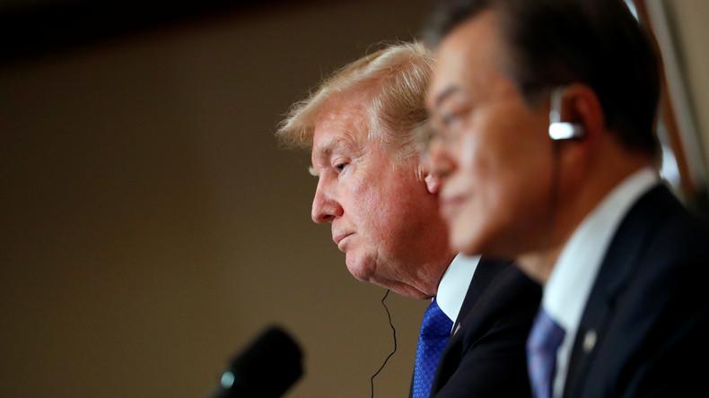 Corée du Nord : Trump prêt à recourir à l'option militaire «si nécessaire»