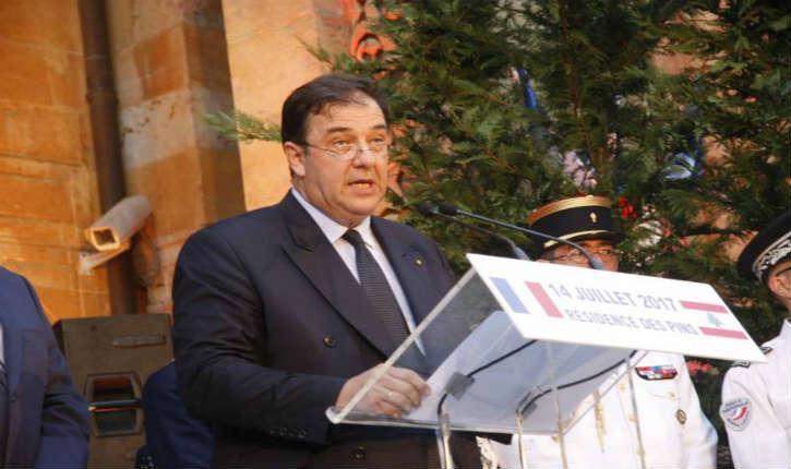 Conférence à Beyrouth : l'Ambassadeur de France au Liban, Bruno Foucher, justifie clairement la politique arabe de son pays